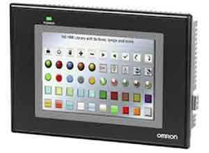 Omron HMI NS Series Intelligent Programmable Touch Screen NS8