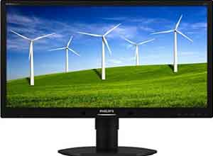 Philips B-line 22 Inch LCD office monitor 220B4LPYCB/75