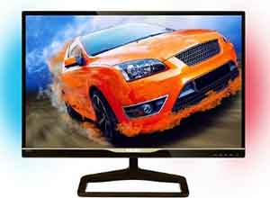 Philips 278C4QHSN/75 LCD monitor with Ambiglow