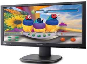 Viewsonic 55cm/21.5'' Wide Screen LED Monitor VG2236wm-LED